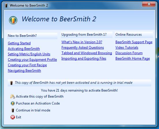 BeerSmith  |  love2brew.com